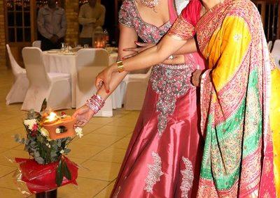 Bride performing Ceremony at Nalangu