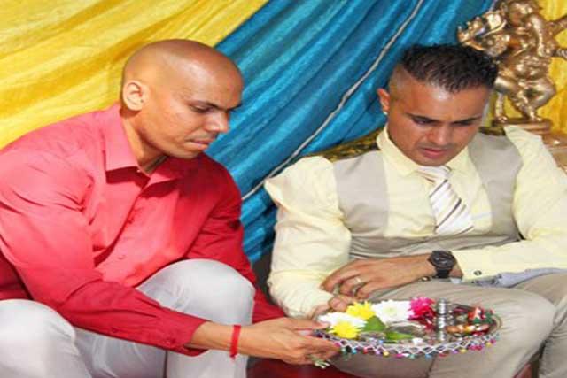 Rajin Hurdee Ceremony_groom hindu hurdee ceremony