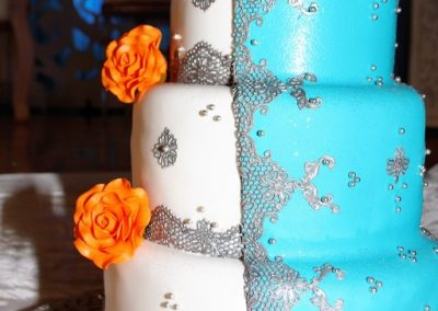 Wedding Cake Blue Wedding Cakesilvercloud