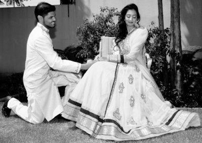 Kamraan & Sabeeha moments before Walima (Copy)